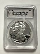 2009 Daniel Carr Proof Overstrike American Silver Eagle Total Mintage 800 Only