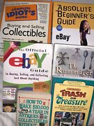 How To Sell On Ebay - Lot Of 6 Books - Antiques Ecommerce Collectibles