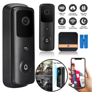 1080p Wireless Door Bell Camera With Chime Wifi Ring Doorbell Hd Security Camera