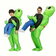Alien Inflatable Costume Adult Kids Boys Girl Party Cosplay Costume Funny Suit