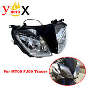 Motorcycle Headlight Headlamp Assembly Cover For Yamaha Mt09 Fj09 Tracer 2015-17