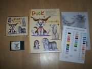 Puck And Friends Embroidery Designs Janome Sewing Machines Dog 25 Designs