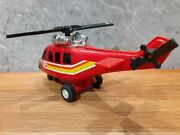 Tonka Toy Antique Sheet Metal And Plastic Helicopter