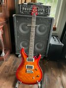 Paul Reed Smith Prs Custom 24 2011 With Single Piece Quilt Top Electric Guitar