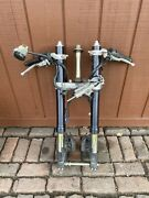 12 13 14 Yamaha Yzf R1 Front Forks Set Pair Straight Clamps Oem Complete 0177