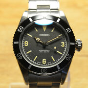 Seiko Nh35 Equipped With Vintage Diver Big Crown