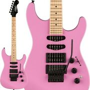 Fender Limited Edition Hm Strat Flash Pink/maple Electric Guitar