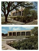 Lot Of 2 Amon Carter Museum Of Western Art Fort Worth Texas Postcards