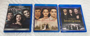 The Twilight Saga Eclipse And Breaking Dawn Part 1 And Part 2 Blu-rays