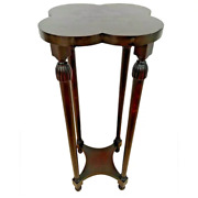 Vintage Plant Stand Jardiniere Two Tier Small Table By Michigan Chair Company