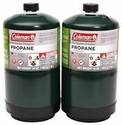 Coleman 16.4oz Propane Bottle Pack Of 2 Free And Fast Shipping
