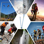 Safety Positioning Lanyard Harness Rock Climbing Mountaineering Construction
