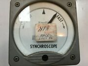 Westinghouse K1-241 Synchroscope Type 292b703a09 Uss O H Perry Ffg-7 Usa Made