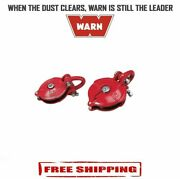 Warn 33,000 Lbs Winch Snatch Block For Winches With 16500 Pound Capacity - 63490