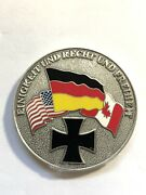 Rare Us Canada German Air Force Command Challenge Coin