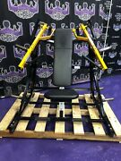 Hammer Strength Iso Lateral Front Military Super Incline - Buyer Pays Shipping