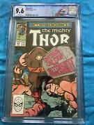 Thor 411 - Marvel - Cgc Ss 9.6 Nm+ - 1st New Warriors Appearance