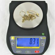 8.3 Grams Scrap 14k Gold Marked And Acid Tested No Stones