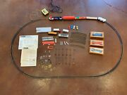 Lot Of Ho Scale Tyco Model Trains Includes Engine Tracks Cars Decor - Clean