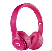 Beats By Dr. Dre Solo Wired Headphones Pink With Case