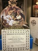 1991 Edwin Knowles Goldilocks And The Three Bears Collector Plate