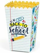 Back To School - First Day Of School Classroom Decorations And Favor Popcorn Tre