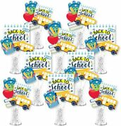 Back To School - First Day Of School Classroom Decorations Centerpiece Sticks -