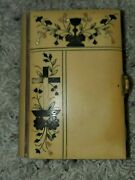 Antique 19th Century Celluloid German Prayer Book With Ivory Clasp