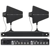 Uhf Antenna Distribution System For Shure Wireless Lapel Microphone Mic System