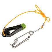 Outrigger Power Grip Snap Release Clip W/ Leader For Offshore Boat Fishing