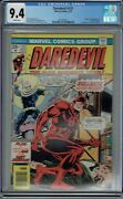 Cgc 9.4 Daredevil 131 White Pages 1st Appearance Bullseye 1976