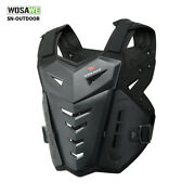 Motocross Armored Vest Motorcycle Racing Downhill Chest Back Protective Gear Top