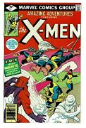 1979 Amazing Adventures Featuring The X-men 1 Nm 9.4 Or Better