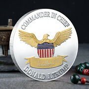 President Donald Trump Coin American Challenge Coins Inauguration Patriosts