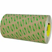 3m T96124681pk Clear 468mp Adhesive Transfer Tape Hand Rolls 12 X 60 Yd.