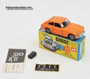 Corgi Toys 345 Mgc Virtually Mint/boxed Orange Found In Later Issue Gs48 And 41