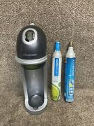 Sodastream Carbonated Soda Machine Fz9001, Includes 1 Full And 1 Empty Canister