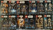 Lego Star Wars Buildable Figures 12 Piece Collection