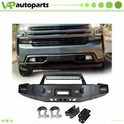 Steel Front Bumper Assembly W Led For Chevy Silverado 1500 2007-2013