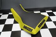 Yamaha Grizzly 660 Yellow Sides Logo Seat Cover Yz74kya74