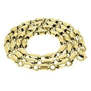 10k Yellow Gold Handmade Fashion Link Chain Necklace 20 8mm 70.7 Grams