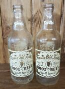 Pair Of Frostie Old Fashion Root Beer Acl Soda Bottles, Tampa, Fla. 1958 And 1962