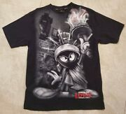 Vintage Lot 29 Giant Print Looney Tunes Marvin The Martian T Shirt Size Xl -rare