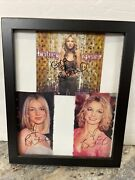 Britney Spears Autograph Hand Signed Magazine. Photos And Cd Insert Cover Lot Of 3