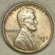 1909 S Vdb Lincoln Cent Wheat Penny 1004