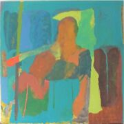Dillwyn Smith Born 1958 Rca Work Of C1986 Abstract Oil Work In Ra Collection