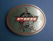 Pbr Professional Bull Riders Belt Buckle - Collectible - Licensed Product Of Pbr