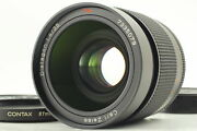 [top Mint] Contax Carl Zeiss Distagon T 35mm F1.4 Mmj Lens C/y Mount From Japan