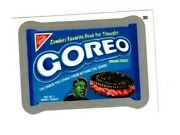 2013 Wacky Packages All New Series 11 Ans11 Silver Border Goreo 30 Sticker