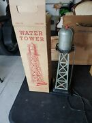Mar Toys Water Tower Toy Train Set Accessory 0465 With Original Box Bubbling